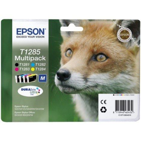 Epson T1285 Multipack (T1281/T1282/T1283/T1284)
