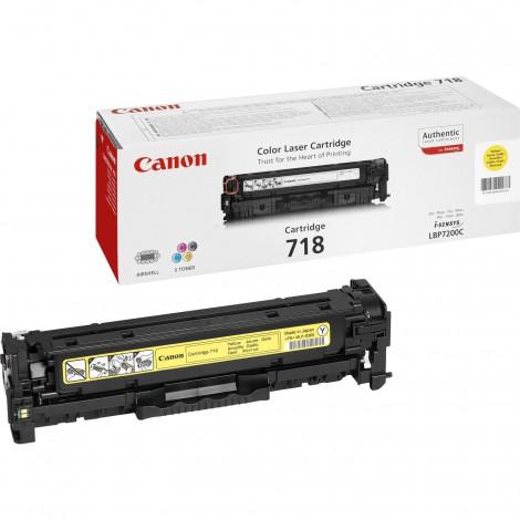 Canon 718Y Toner Yellow