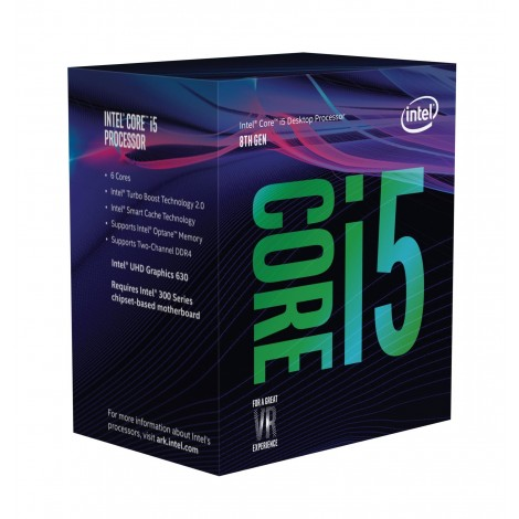 Intel Core i5-8600 (3.1ghz) S1151 9MB (6 Cores)
