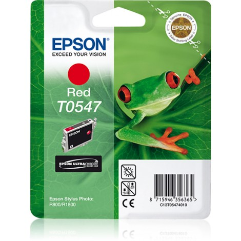 Epson T0547 Inkpatroon (Red)