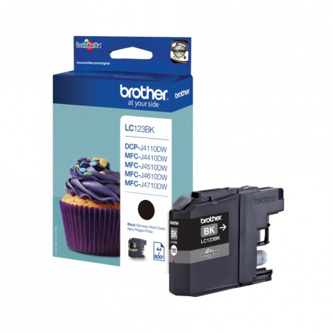 Brother LC-123BK Black inktcartridge