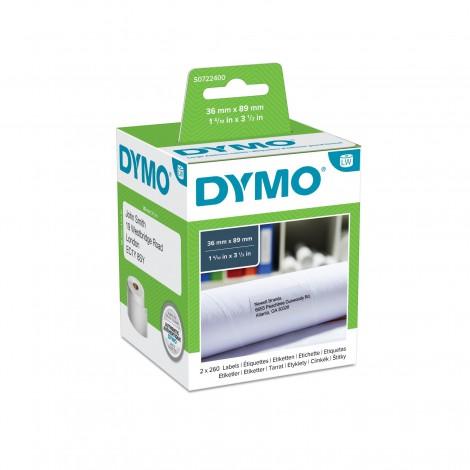Dymo 99012 Groot Adres Etiket 36x89mm 2 rolls (520 etiketten)