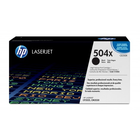 HP CE250X Tonercartridge Black (10.500 pagina's)