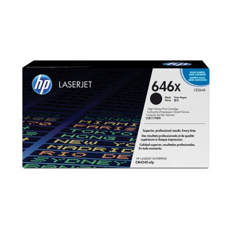 HP CE264X Tonercartridge Black (17.000 pagina's)