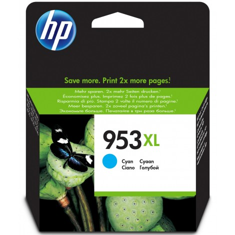 HP F6U16AE Inkpatroon (953XL) Cyan