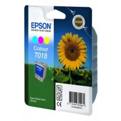 Epson T018 Inkpatroon (Kleur)