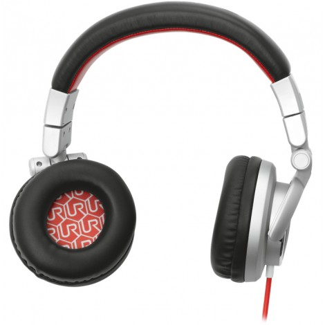 P0157992 Urban Revolt Rimix Headset Grijs/Rood