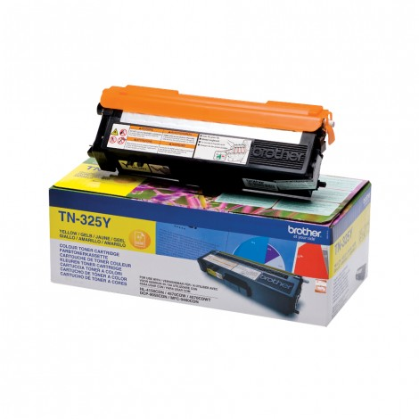 Brother TN-325Y Toner Yellow HC