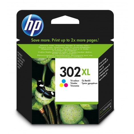 HP F6U67AE (302XL) Color Cartridge