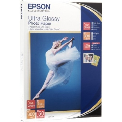 Epson S041944 13x18 Ultra Glossy Photo Paper 300gr (50 vel)