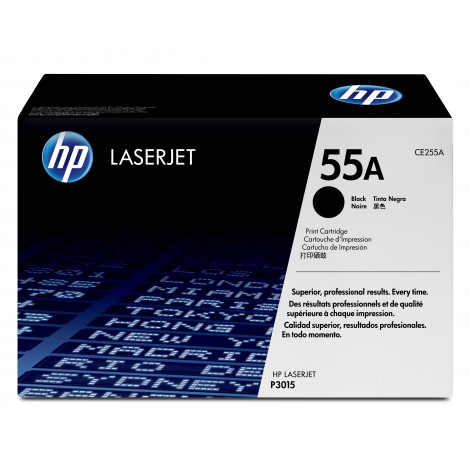 HP CE255A Tonercartridge Black