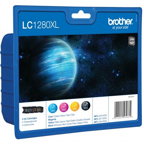 Brother LC-1280XLVALBP Multipack
