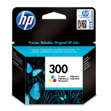 HP CC643EE ABF (300) Color Cartridge