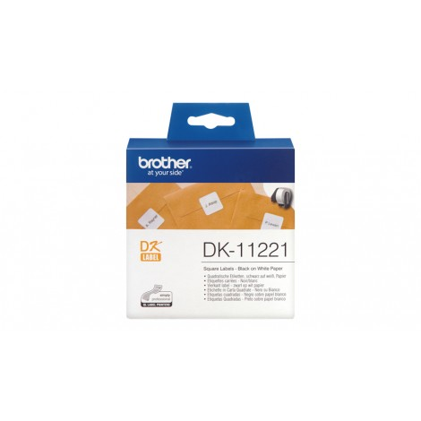 Brother DK-11221 Label 23 mm x 23 mm