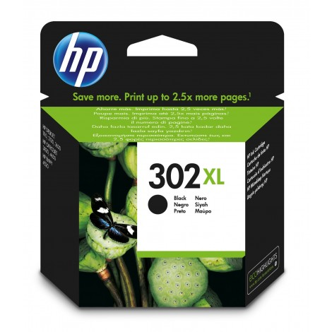 HP F6U68AE (302XL) Black Cartridge