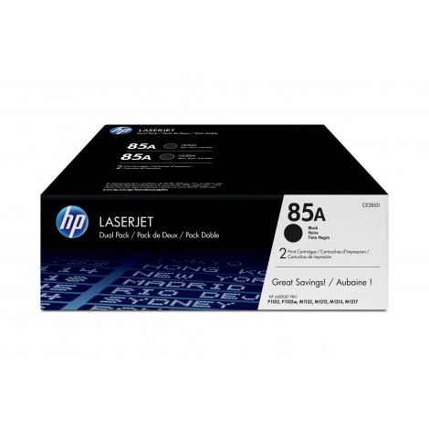 HP CE285AD Tonercartridge (85A) 2-Pack