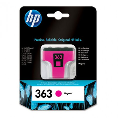 HP C8772E Inkpatroon (363) Magenta