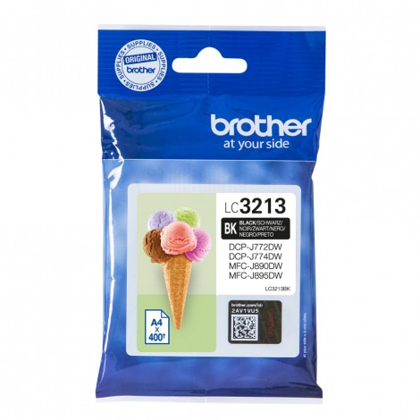 Brother LC-3213BK Black inktcartridge High Capacity