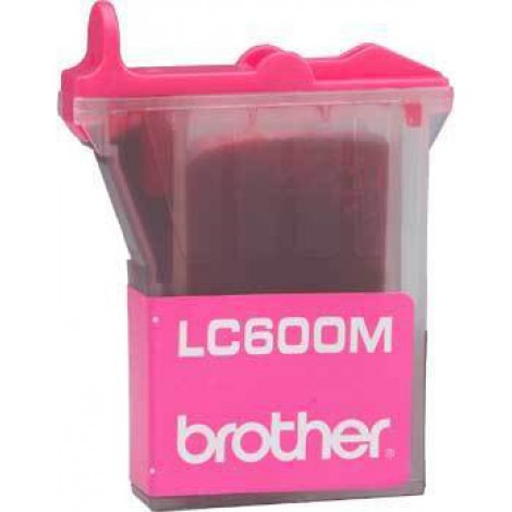 Brother LC-600M Inktpatroon Magenta