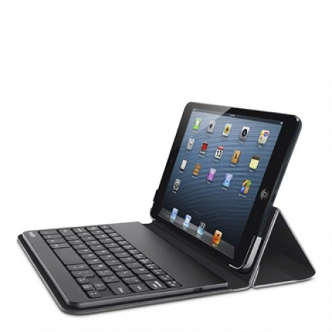 Belkin F5L145EABLK iPad Mini Portable Keyboard Case