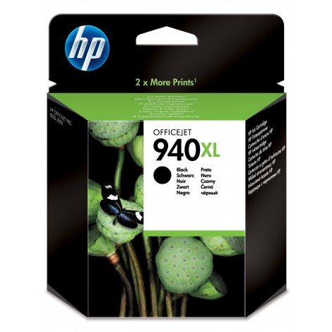 HP C4906A Inkpatroon (940XL) Zwart