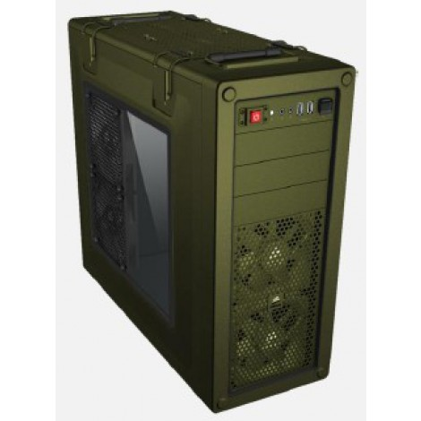 Corsair Vengeance C70 Window no PSU Military Green