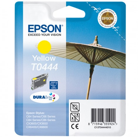 Epson T0444 High Capacity Inkpatroon (Yellow)