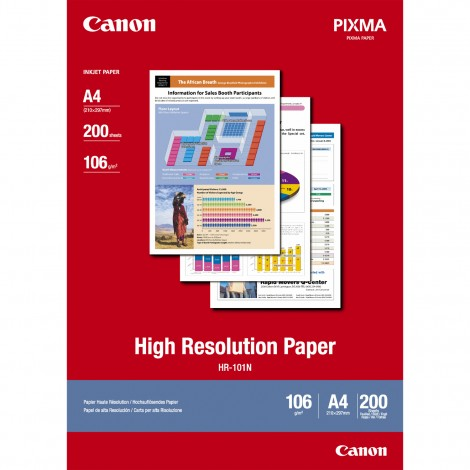 Canon HR-101N A4 High Resolution Paper 110gr (200 vel)