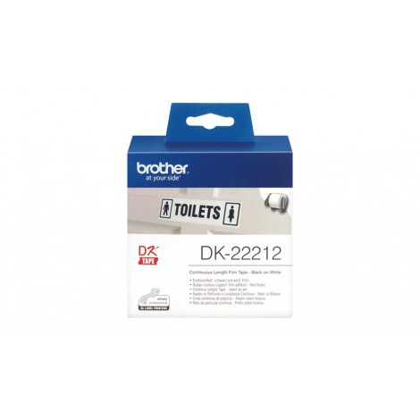 Brother DK-22212 Label 15.24 mm x 62 mm