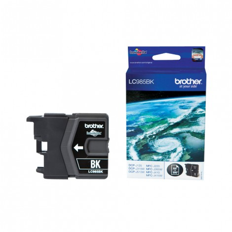 Brother LC-985BK Black inktcartridge