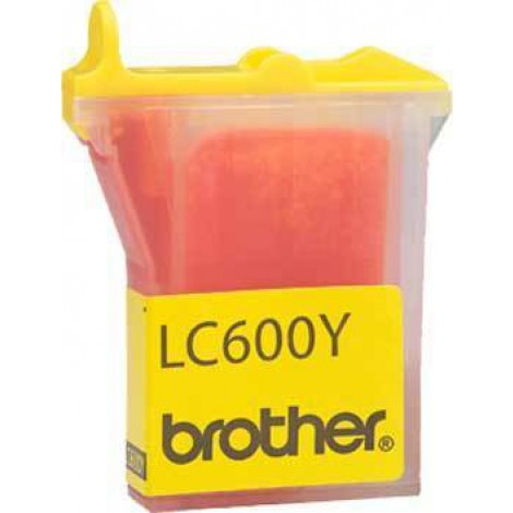 Brother LC-600Y Inktpatroon Yellow