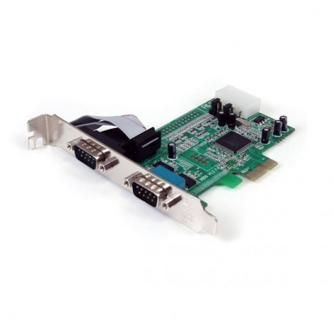 StarTech PEX2S553 2-Poort Serial PCI-Express Card