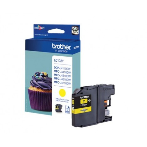 Brother LC-123Y Yellow inktcartridge