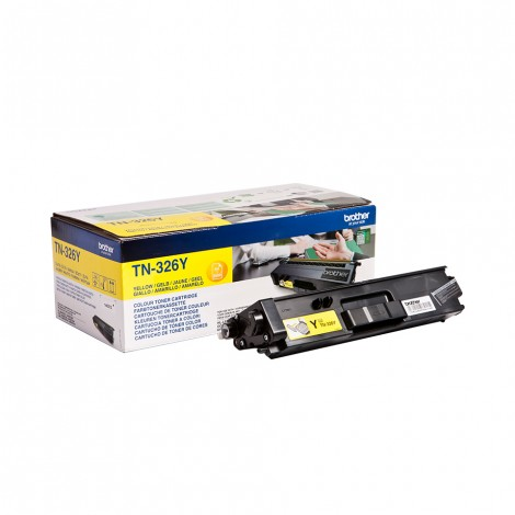 Brother TN-326Y Toner Yellow HC