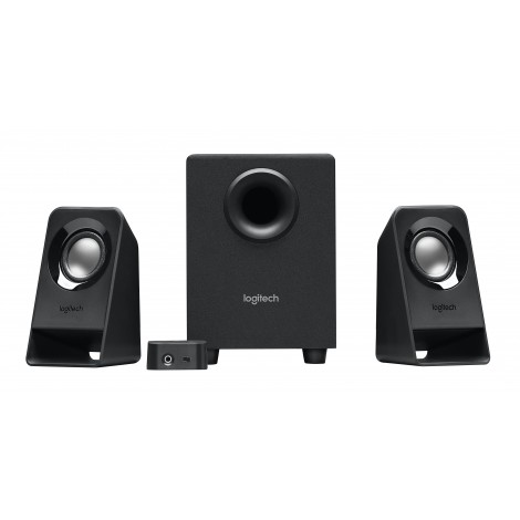 Logitech Z-213 2.1 Speakerset Black