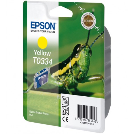 Epson T0334 Inktpatroon (Yellow)