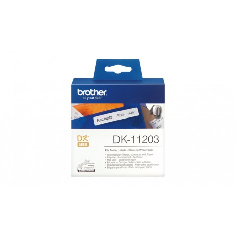 Brother DK-11203 Label 17 mm x 87 mm
