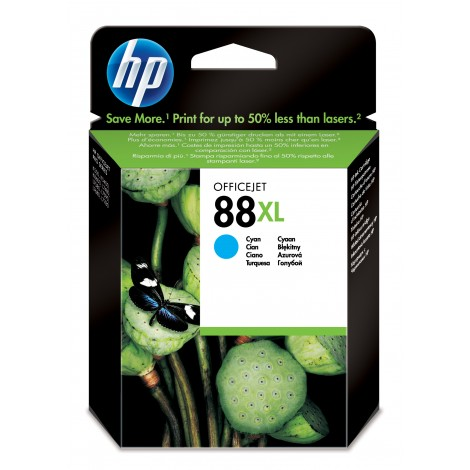HP C9391A Inkpatroon (88XL) Cyan
