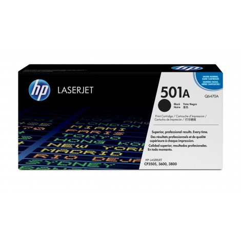 HP Q6470A Tonercartridge Black voor HP Laserjet 3600-series