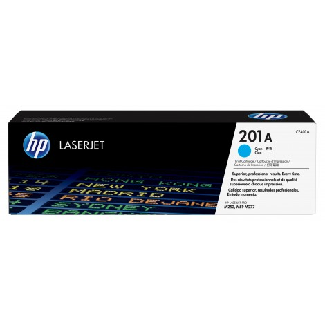 HP CF401A Toner Cartridge Cyan (201A)