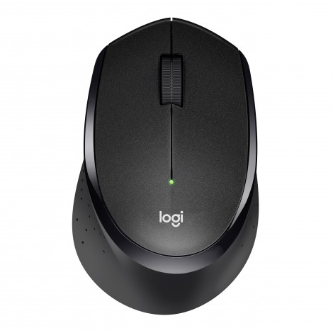 Logitech M330 Wireless Silent Plus Mouse Black