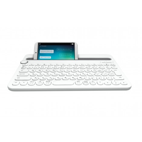 Logitech Bluetooth Multi-Device Keyboard K480 White