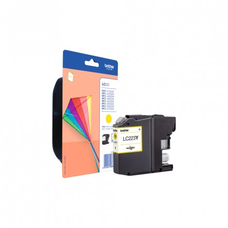 Brother LC-223Y Yellow inktcartridge