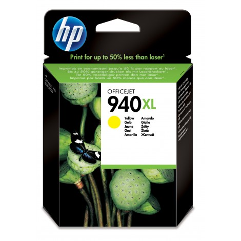 HP C4909A Inkpatroon (940XL) Yellow