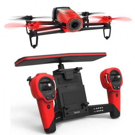 Parrot BeBop Drone + Skycontroller Red