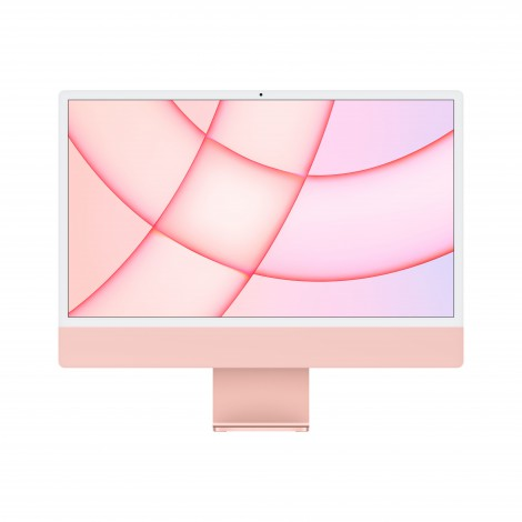 "Apple iMac 61 cm (24"") 4480 x 2520 Pixels Apple M 8 GB 256 GB SSD Alles-in-één-pc macOS Big Sur Wi-Fi 6 (802.11ax) Roze"