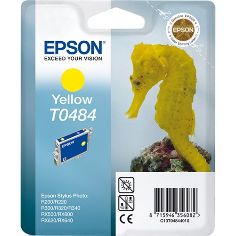 Epson T0484 Inkpatroon (Yellow)