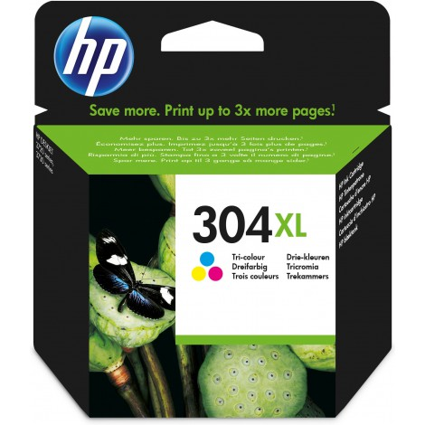 HP 304XL originele drie-kleuren inktcartridge