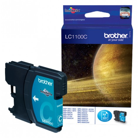 Brother LC-1100C Cyan inktcartridge