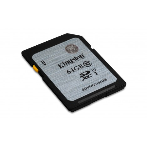 Kingston 64GB SDHC Class10